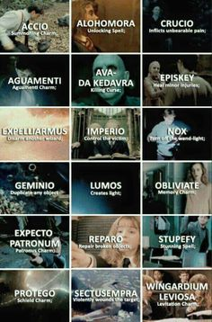Harry Potter Spells ❤