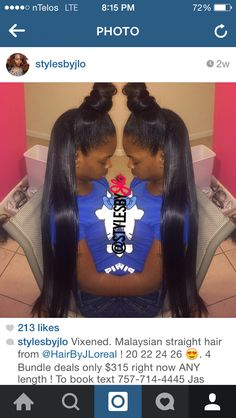 Vixen sew in done by @stylesbyjlo on IG