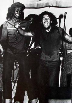 Peter Tosh & Bob Marley