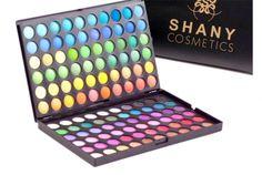 Paleta de 120 colores brillantes y coloridos con 2 tabletas intercambiables. SHANY Cosmetics SHANY120 Encuéntralas en www.shanycosmetics.com.mx