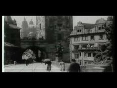 (c) Narodní Filmový Archiv Czech Republic 1912 English title: Old Prague Synopsis: A view of the city and traffic in its streets. Praha, Czech Republic, Vintage Images, Black And White, Film, Youtube, Painting, History, Black White