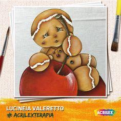 #Acrilexterapia por Lucineia Valeretto