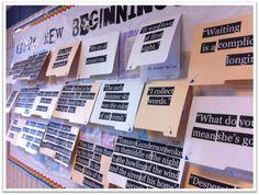 Happy New Beginnings   Cute Bulletin Board Idea  #tlchat #tlelem #edchat #nced #edtech