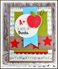 Teacher Thanks created by Tammy Hobbs @ Creating Somewhere Under The Sun: #SFYTT, #teachercard, #teacherappreciation, #reverseconfetti
