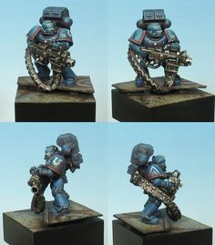 Ultramarine with heavy bolter