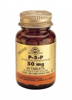 soglar p5p 50mg - pyridoxal 5 phosphate