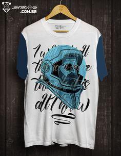 Vamos todos para o mundo da lua, mas antes, bora levar essa t-shirt irada pra casa👉goo.gl/xe3YIB