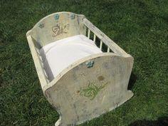 Newborn Cradle Photo prop. $25.00, via Etsy.