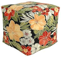 Codson Park 81157 Clemens Noir OutdoorIndoor Pouf 18Inch ** Find out more by clicking the image