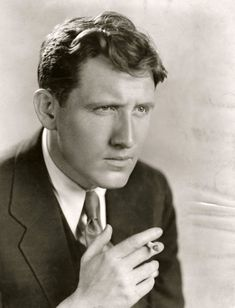 """Spencer Tracy ~ """"[on acting] It's never been very demanding. It doesn't require much brainwork. Acting is not the noblest profession in the world, but there are things lower than acting. Not many, mind you - but politicians give you something to look down on from time to time."""" (IMDB)"""