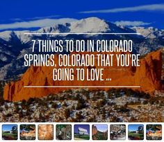 7 Things to do in Colorado Springs, Colorado That You're Going to Love ... → Travel