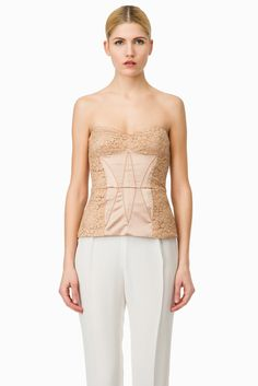 Bustier pizzo
