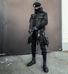 Grunge Fashion, Emo Fashion, Gothic Fashion, High Fashion, Cyberpunk Clothes, Cyberpunk Fashion, Mode Emo, Tactical Wear, Gothic Girls
