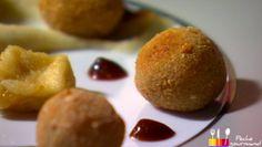 """- Plat / Viande - Anne Alassane vous propose sa recette de """"Cromesquis de canard aux pruneaux et foie gras"""" inspirée par celle de Christelle """"Foie gras poêlé sur un tournedos de canard""""."""
