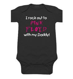 J'ai rock à pink floyd avec papa maman bébé par SweetRosyCheeks
