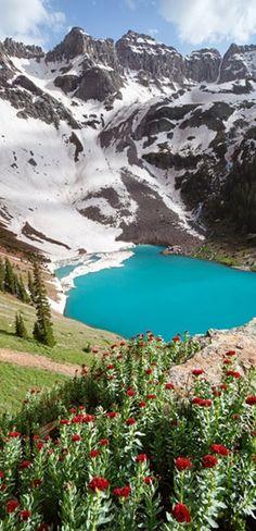Lago Azul - Colorado - EUA
