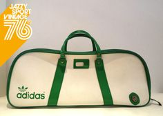 Vintage 70's Adidas Peter Black Holdall Tennis Sports Bag | eBay