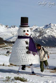Marcha blanca - Ushuaia, Tierra del Fuego, Patagonia Arg.