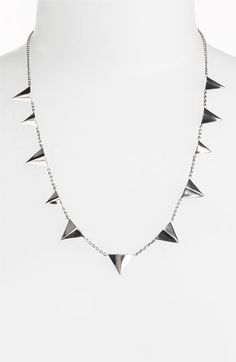 Toughen-up your new-season looks with this edgy necklace by @ElizandJames.