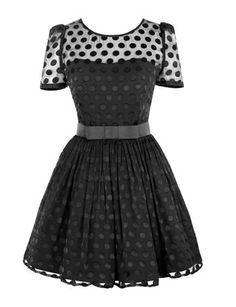 A cute dress. I wish I knew where it came from.