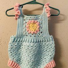 Crochet dress PATTERN - Crochet Tiered Dress (baby, toddler, child sizes) (English only) Crochet Toddler Dress, Crochet Romper, Baby Girl Crochet, Crochet Baby Clothes, Crochet For Kids, Vestidos Bebe Crochet, Baby Clothes Patterns, Baby Knitting, Crochet Patterns