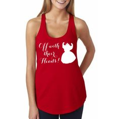 Off with their Heads – Red - Disney Shirt, Disney Clothing, Disney Apparel  Shop Him & Gem (www.himandgem.com