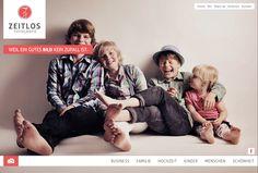 A great new photographer website.