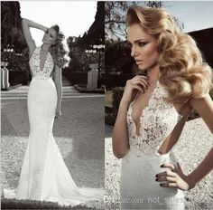Sexy Vestido De Noiva Vintage French Lace Mermaid Mermaid Wedding Dresses | Buy Wholesale On Line Direct from China