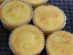 Basic Vanilla Cupcake Recipe. My grandma made these all the time when I was a kid!