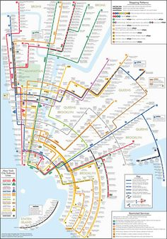 New York City Subway Map With Street Names.D8f734a695a39dc6e317f2ebbf62ad0e Gif 2367 1632 Travel Korea