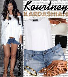 Would you wear it: Kourtney Kardashian Outfit ? | LUUUX