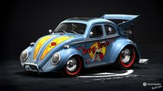 Volkswagen bug art