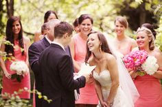 This picture is of Carlee and Chris's wedding, daughter of a good friend of mine.  I love this shot!