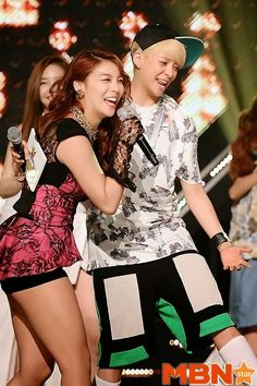 Amber promises to wear miniskirt and heels if Ailee's album gets no.1