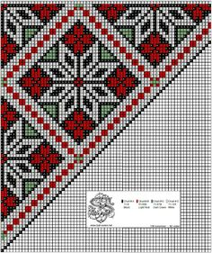 bringeklut 94 – Vevstua Bull-Sveen Cross Stitch Charts, Cross Stitch Designs, Cross Stitch Patterns, Hardanger Embroidery, Embroidery Patterns, Knitting Patterns, Palestinian Embroidery, Beads Pictures, Sampler Quilts