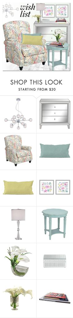 """""""Win It! #PolyPresents: Wish List"""" by ansev ❤ liked on Polyvore featuring interior, interiors, interior design, home, home decor, interior decorating, Possini Euro Design, Universal Lighting and Decor, Howard Elliott and Vienna Full Spectrum"""