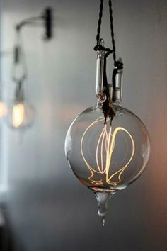 nonconcept:  Design sleuth incandescent light sculptures.