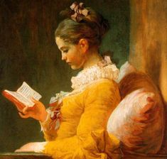 "I had this poster when I was.well, a young girl reading, mostly. Painting by jean honore fragonard, ""a young girl reading"" Girl Reading, Reading Art, Reading Books, Happy Reading, Reading Resources, National Gallery Of Art, Art Gallery, National Art, National Museum"