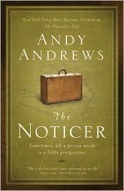 This is an easy and quick read, however it is thought provoking and worth more than one read.  I really enjoyed it.  I first knew Andy Andrews as a stand up comic, but now he writes and speaks at Women of Faith Conferences among other gigs.