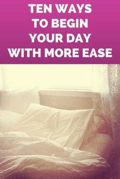 10 Ways to Begin Your Day with More Ease | eBay