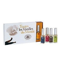 Toutes Les Vanilles du Monde by La Maison de la Vanille 5 Piece Set by La Maison De La Vanille. $49.00. 5 piece Gift Set. La Maison de la Vanille Gift Sets - Toutes Les Vanilles du Monde by La Maison de la Vanille 5 Piece Set. This cute boxed set is the end-all, be-all perfect collection for all vanilla fiends! Share the ones you like with your friends and horde the ones you love for yourself, there's something here for everyone. You can even play perfumer extra...