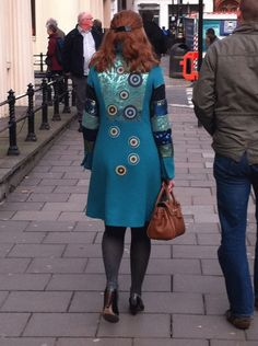 London photo of the day: pretty much the most awesome coat ever