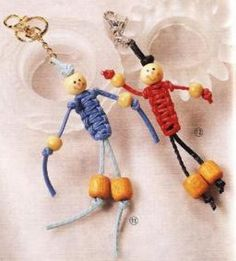 Muñecas de macramé
