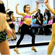 Mackenzie dancing