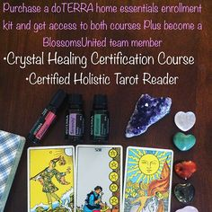 Last two days for BoGo courses!!!Join with •Aromatouch enrollment kit or •Family Essential enrollment kit for $150 and And choose your course. Want to enroll in both courses then choose our •Home Essentials kit for $275 and start getting wholesale prices on all your essential oil's. I would love to discuss different options DM me for more information🙂#doterra #doterraessentialoils #healing #selfhealing #crystals #gemstones #crystalhealing #healthy #selfhealing #holistic #holistichealing…