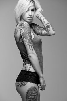 F*ck yeah, girls with tattoos