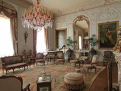 Grey Drawing Room - Waddesdon Manor, Waddesdon, Buckinghamshire