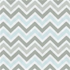 Gray Geometric Fabric by the Yard | Carousel Designs