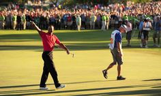 In the crowd at the 18th when Tiger won the Arnold Palmer Invitational  March 25, 2012 at Bay Hill, Orlando FL: 3/25/12