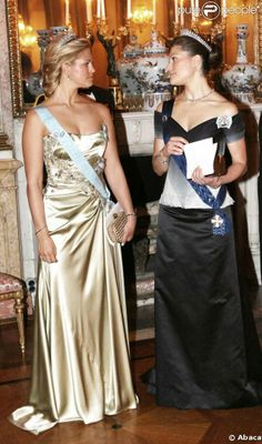 Royal Sisters... Princess Madeleine and Crown Princess Victoria of Sweden